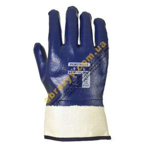Защитные перчатки нитриловые Portwest A302