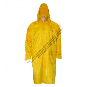 Влагозащитный плащ от дождя Sizam Chester желтый