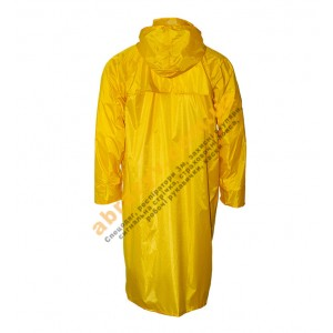 Влагозащитный плащ от дождя Sizam Chester желтый 2