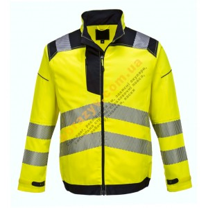 Сигнальна куртка Portwest Vision T500 жовтий