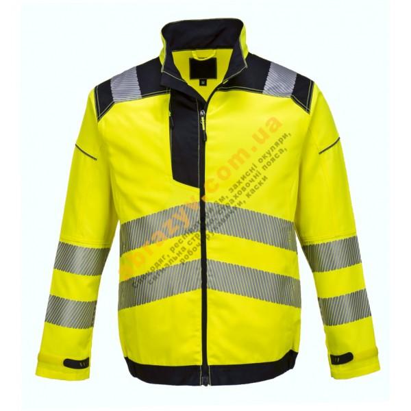 Сигнальная куртка Portwest Vision T500 желтый