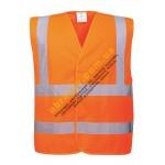 Жилет сигнальный светоотражающий Portwest C470 оранжевый