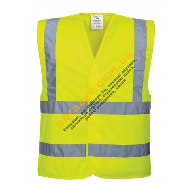 Жилет сигнальный светоотражающий Portwest C470 желтый