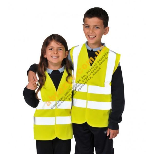 Детский светоотражающий жилет Portwest JN14