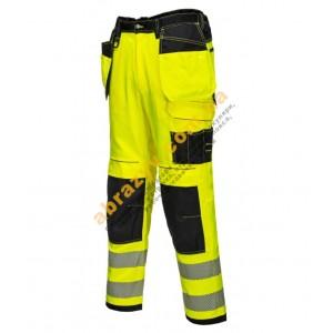 Сигнальные брюки Portwest Vision T501 желтый