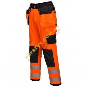 Сигнальные брюки Portwest Vision T501 оранжевый