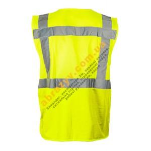 Жилет сигнальний світловідбиваючий Sizam Coventry жовтий 2