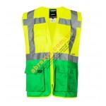 Жилет сигнальный светоотражающий Sizam Coventry желтый-зеленый