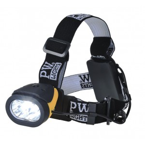 LED фонарик светодиодный Portwest PA63 налобный