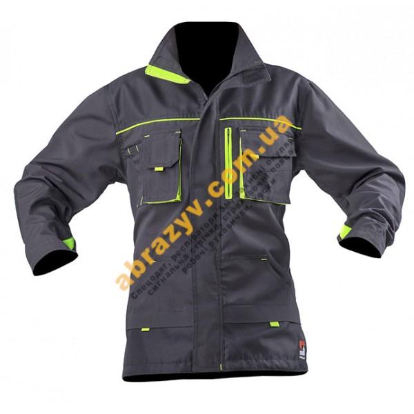 Куртка рабочая SteelUZ серый-салатовый