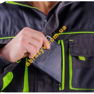 Куртка рабоча SteelUZ сірий 2