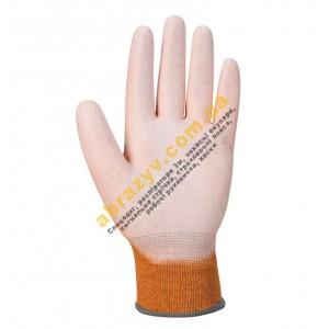 Антистатичні рукавички з ПУ покриттям Portwest A199 2