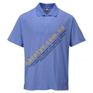 Антистатическая футболка Поло Portwest AS21 синяя