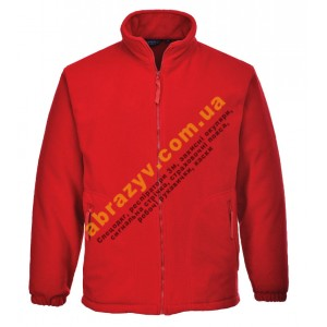 Флисовая куртка Portwest ARGYLL F400 красная