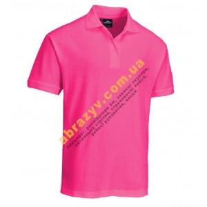 Футболка Поло женская Portwest B209 розовая