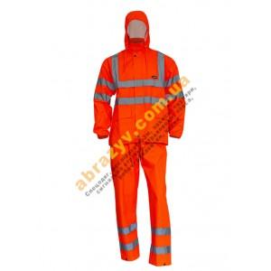 Вологозахисний сигнальний костюм від дощу Sizam Glasgow