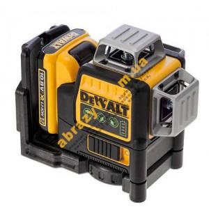 Лазер самовыравнивающийся DeWALT DCE089D1G 3-х плоскостной