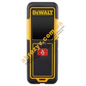 Дальномер лазерный DeWALT DW033 2