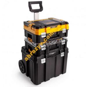 Комплект 3 ящика для инструмента DeWALT DWST1-81049