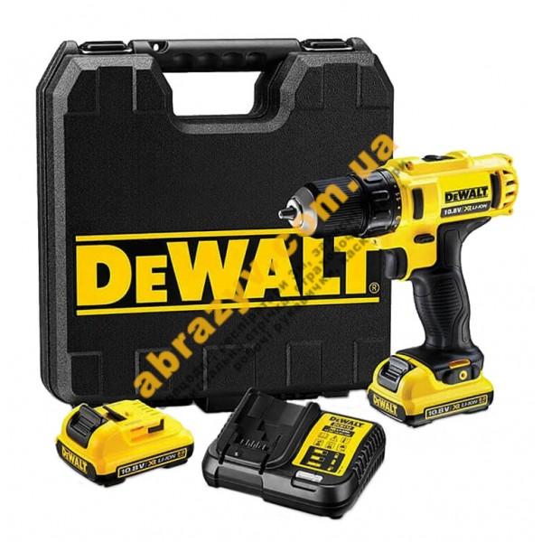 Дрель-шуруповерт аккумуляторная DeWALT DCD710D2