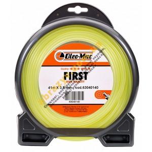Леска косильная круглая Oleo-Mac First 3.0*56м