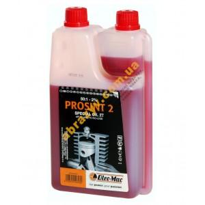 Масло Oleo-Mac Prosint 2T 1л с дозатором для двухтактных двигателей