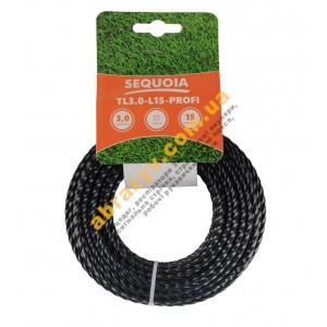 Леска косильная Sequoia TL3.0-L15-Profi