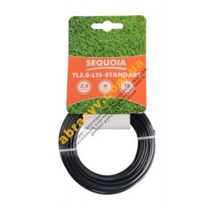 Леска косильная Sequoia TL2.0-L15-Standart